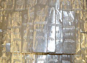 Physical silver bullion bars for IRA