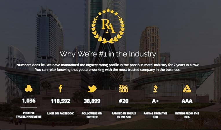 Regal Assets Ratings Accolades