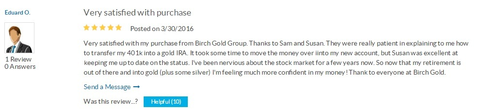 positive review birch gold group