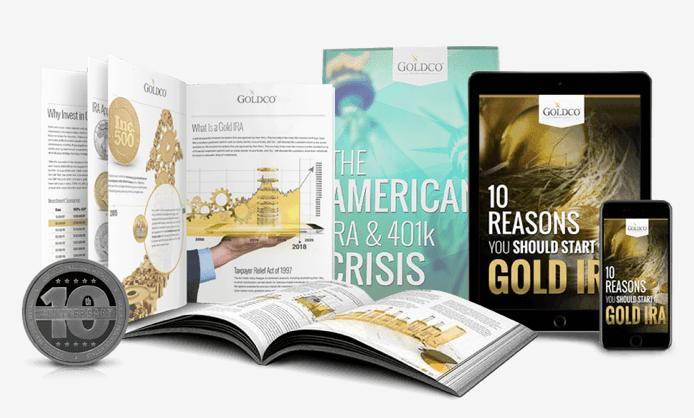 Goldco IRA fees investor kit