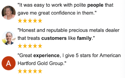 American Hartford Gold Google Reviews and Rating